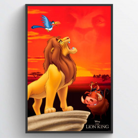 The Lion King King of Pride Rock Poster wallsticker