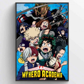 My Hero Academia (Cobalt Blast Group) Poster wallsticker