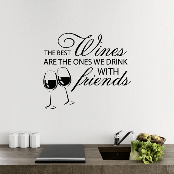 The best wine wallsticker