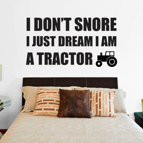 I don't snore wallsticker