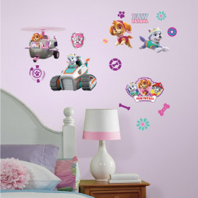 Paw Patrol Skye - package wallsticker
