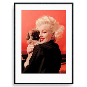 Marilyn Monroe (Love) Poster wallsticker
