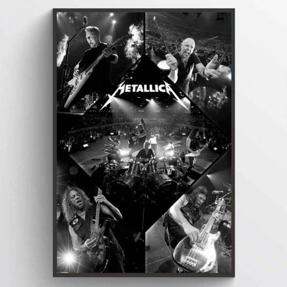 Metallica Poster wallsticker