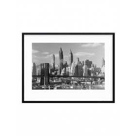 Time Life (Lower Manhattan Skyline 1948) Poster wallsticker
