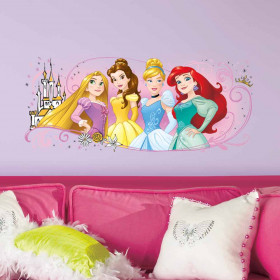Disney Prinsessen #2 wallsticker