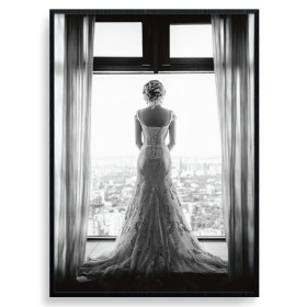 Wedding Day Poster wallsticker
