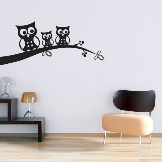 Uilen wallsticker