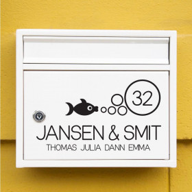 Vis wallsticker