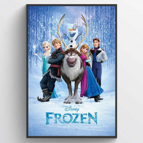 Frozen (Cast) Poster wallsticker