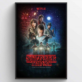 Stranger Things (One Sheet) Poster wallsticker