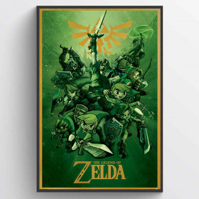 The Legend Of Zelda (Link) Poster wallsticker