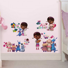 Doc McStuffins - set wallsticker