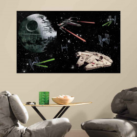 Star Wars - XL wallsticker