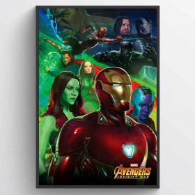Avengers Infinity Wars Iron Man Poster wallsticker