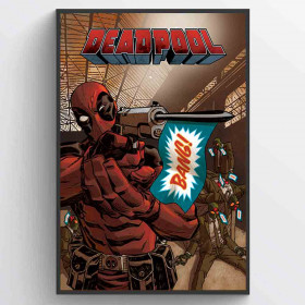 Deadpool (Bang) Poster wallsticker