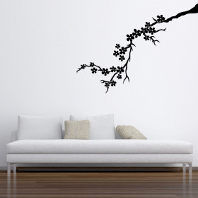 Kersentak wallsticker