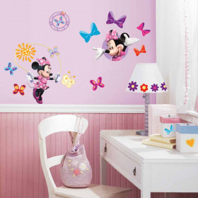 Minnie Mouse - set wallsticker
