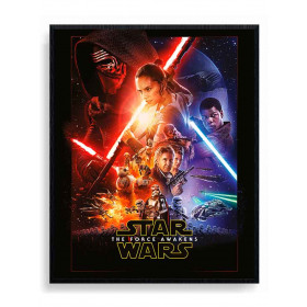 Star Wars Episode VII (One Sheet) Poster wallsticker