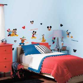 Mickey Mouse & vrienden – set #2 wallsticker