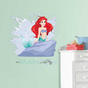 Disney - Den lille havfrue set wallsticker