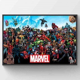 Marvel Universe Poster wallsticker