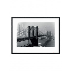 Time Life (Brooklyn Bridge, New York 1946) Poster wallsticker