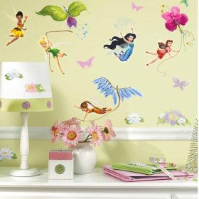 Disney Fairies - set wallsticker