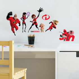 Incredibles – set wallsticker