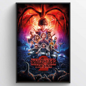 Stranger Things (One-Sheet Season 2) Poster wallsticker