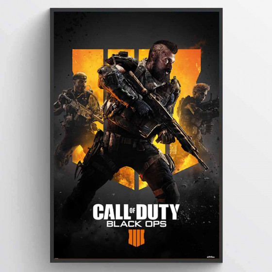 Call of Duty - Black Ops 4 (Trio) Poster wallsticker