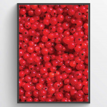 #1 Red berries - poster