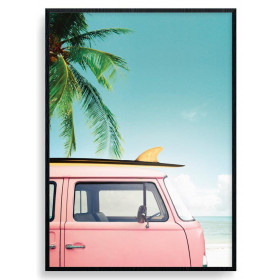 Surfing Days Poster wallsticker