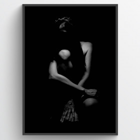 Body pose #5 - poster wallsticker