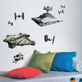 Star Wars - Spaceships wallsticker
